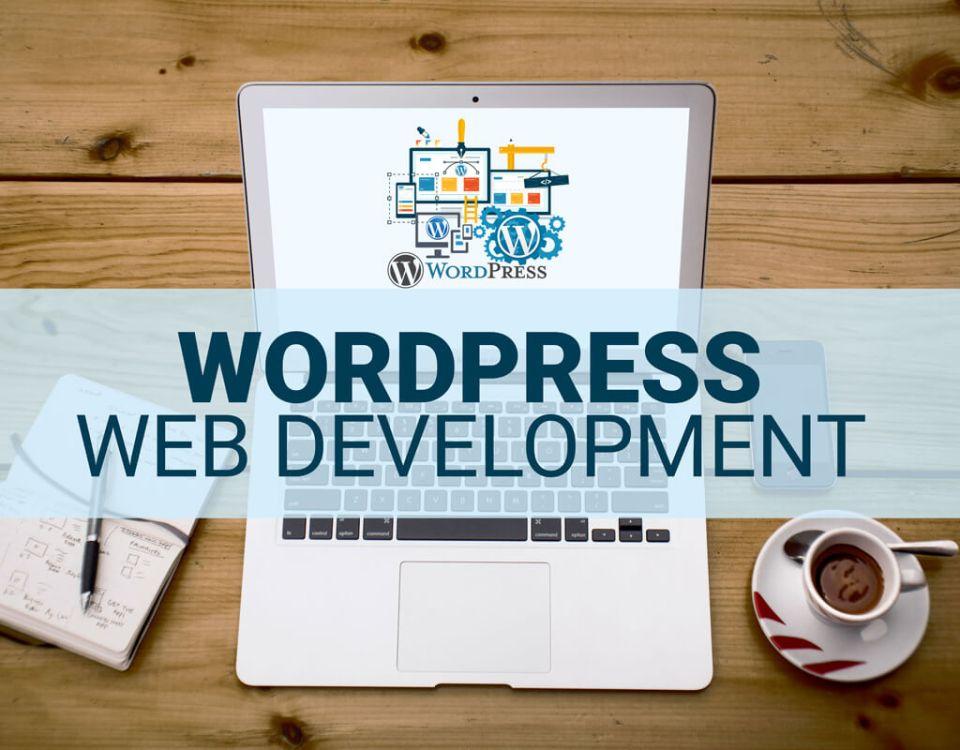 WordPress website.