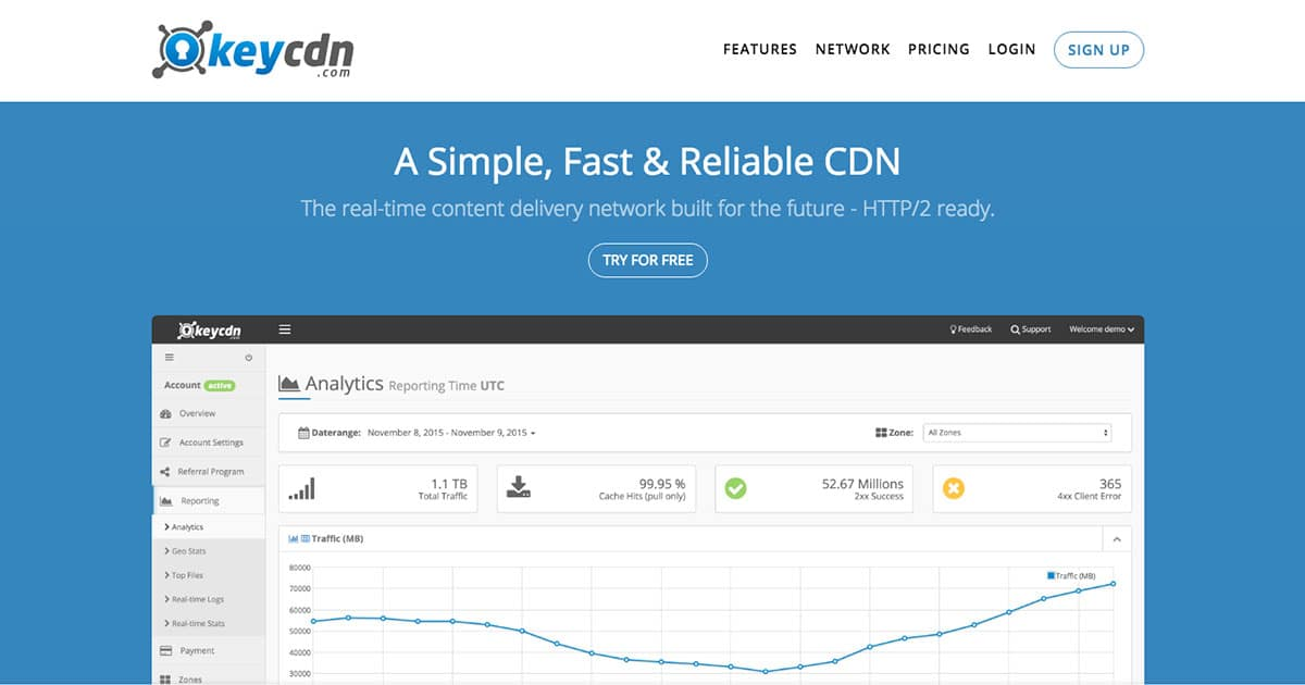 KeyCDN Provider | Content delivery network (CDN) | CDN Providers