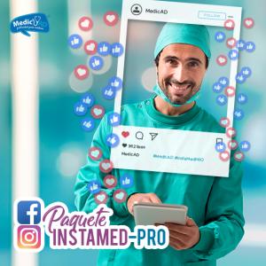 instagram facebook médicos