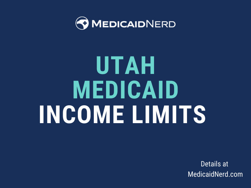 """""""What are the income limits for Medicaid in Utah"""""""