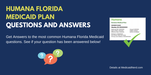 """Humana Florida Medicaid Plan Explained"""