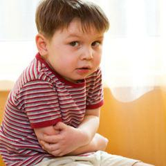 Acute abdominal pain of the child