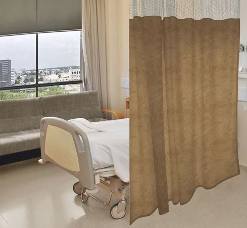 hospital cubicle ceiling curtain track