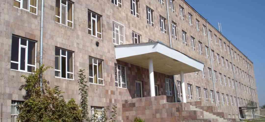 University campus of Mkhitar Gosh Armenian Russian International University