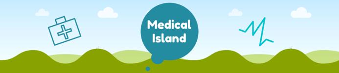 medical Island banner