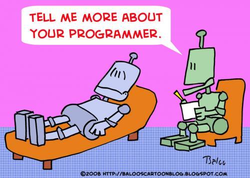 Robots Programmer Psychiatrist