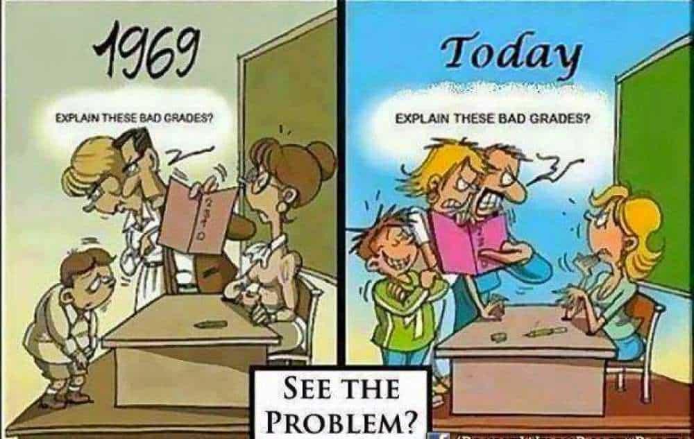 Bad Grades Cartoon
