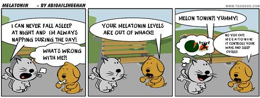 Melatonin Cartoon