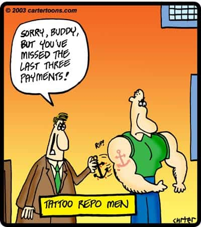Tattoo Repo Cartoon