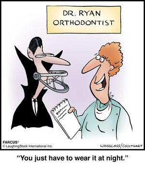 Orthodontist Funny Cartoon