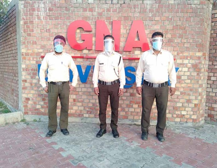 Punjab's GNA University develops face shields to fight COVID-19
