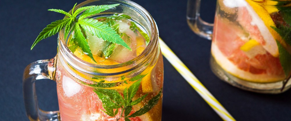 thc infused foods drinks
