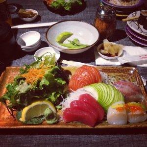 O Suhi mixed-sashimi