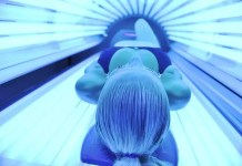 indoor UV tanning