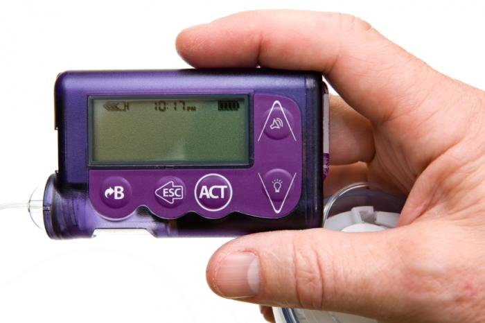 Image result for diabetic pump