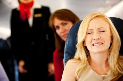 Anxiety about flying is common