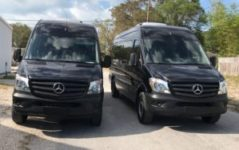 New Mercedes Sprinters heading out for modifications