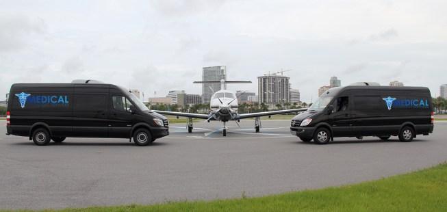 Long Distance Medical Transportation