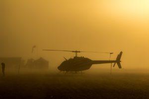 medical transportation helicopter