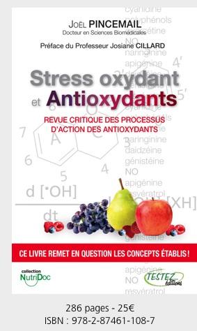 "Livre Stress Oxydant ""antioxydants"""