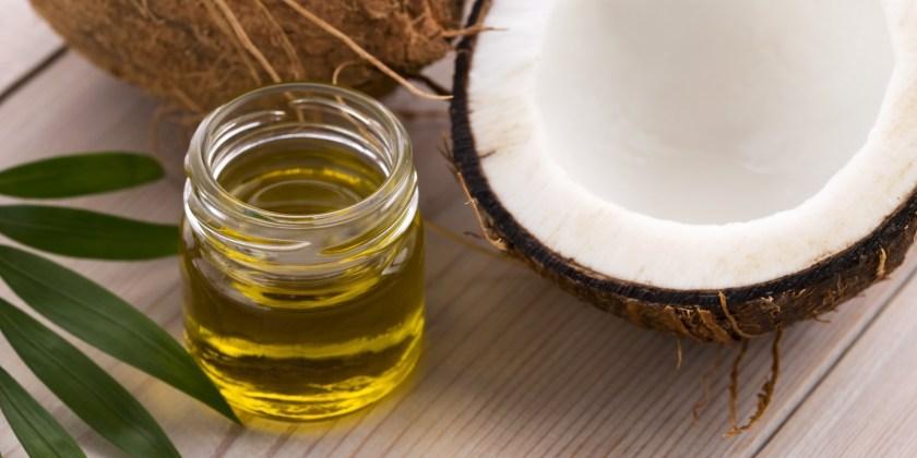 Noix de coco et l'huile de coco