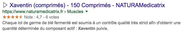 Achetez du Xaventin, germe de blé fermenté.