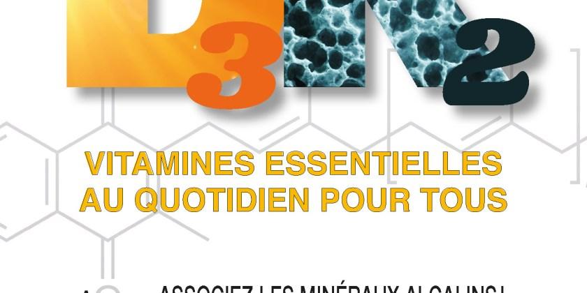 Vitamines D3K2 - Dr Résimont
