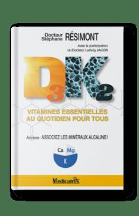 """Extrait du livre de poche """"Vitamines D3K2 : vitamines essentielles au quotidien pour tous — Docteur Stéphane Résimont"""