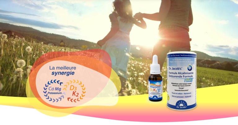 Combinez les vitamines D3K2 avec les bons minéraux !