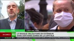 Covid-19 : «Le niveau de circulation du virus dans la population augmente», estime Bruno Megarbane