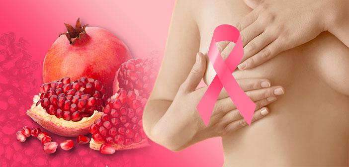 Les polyphénols de grenade fermentée, une aide en prévention du cancer du sein