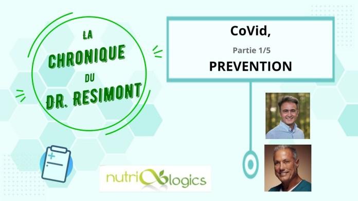 La chronique du Dr Résimont – Covid 19