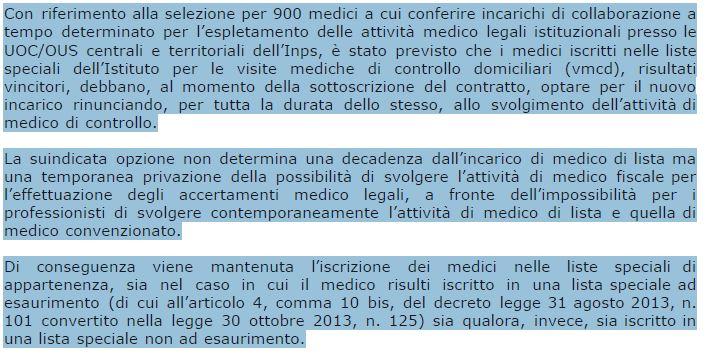 La posta di ANMEFI. Medico convenzionato e medico fiscale?