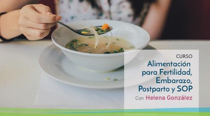 Curso Alimentacion: Fertilidad, embarazo, parto, postparto y SOP