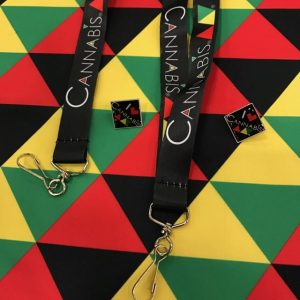 Cannabis Triangle Lanyard and Collectors Pin