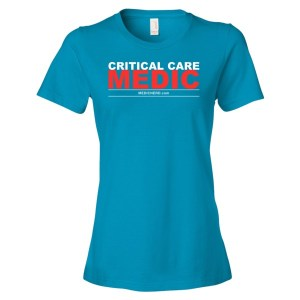 Critical Care Medic T-shirt (Women's)