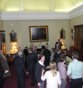 Lettsom House reception after meeting