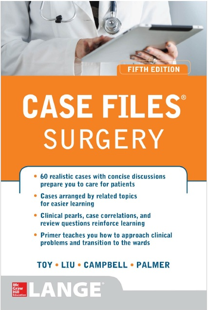 Case Files Surgery 5th Edition PDF