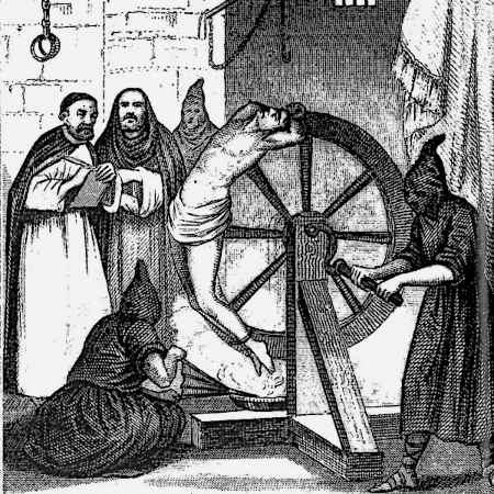 Image result for the wheel torture device