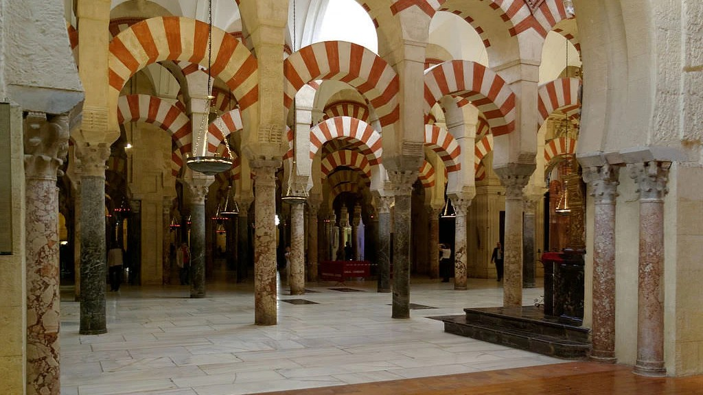 The Great Mosque of Córdoba turned church after the Reconquista. (Wikipedia)