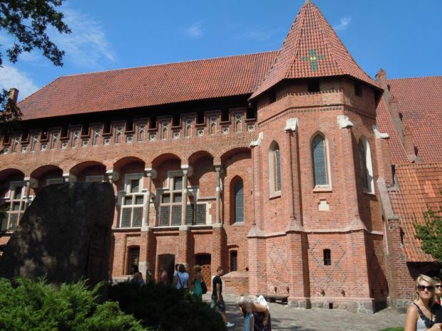 Malbork Castle in Poland. Medievalists.net (Aug. 2010)