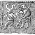 Berserker: a ferocious Viking warrior