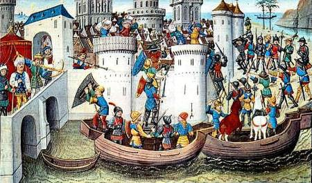 Conquest Of Constantinople By The Crusaders In the Fourth Crusade