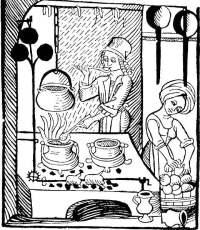 cooking medieval food