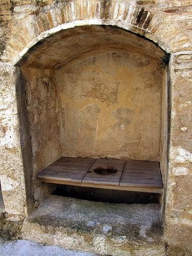 Medieval Garderobe (Privy) - El Castell de Xativa