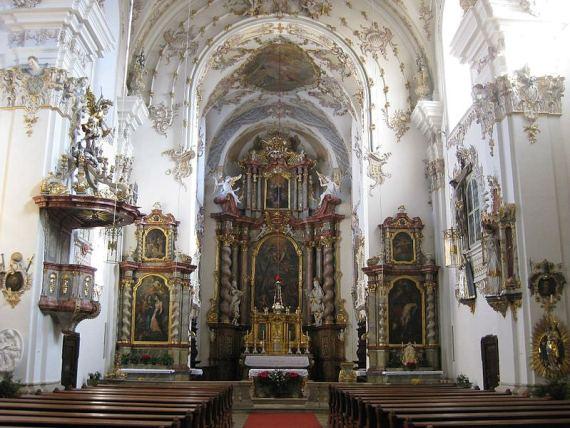 Church St. Mang Andreas Regensburg Stadtamhof (Wikipedia).