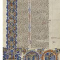 Getty Museum acquires 13th century Bible