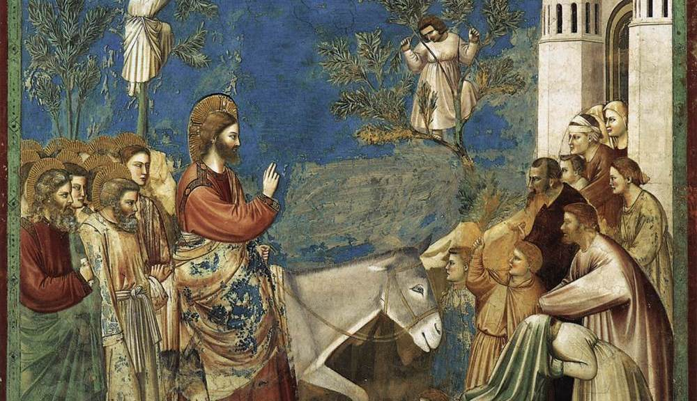 Giotto - Entry into Jerusalem