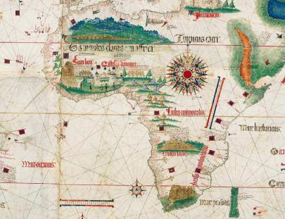 Africa - medieval map