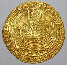 Gold Noble coin - Edward III